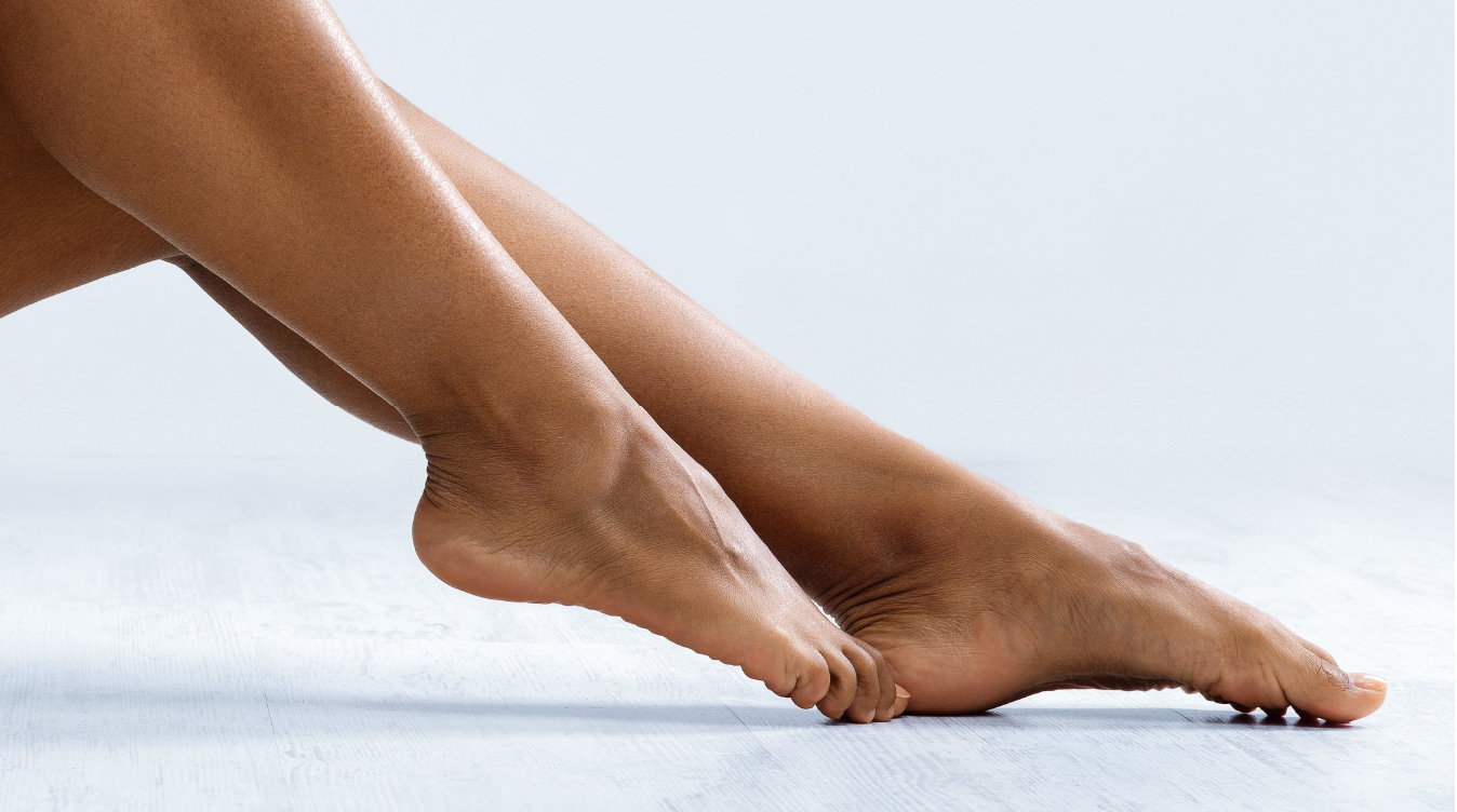 GIVE TIRED FEET A QUICK PICK-ME-UP